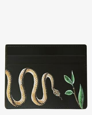 CARDHOLDER SERPENT BLACK