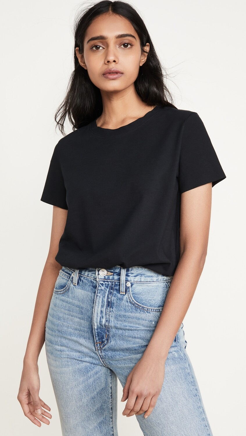 ESSENTIAL CREWNECK TEE BLACK