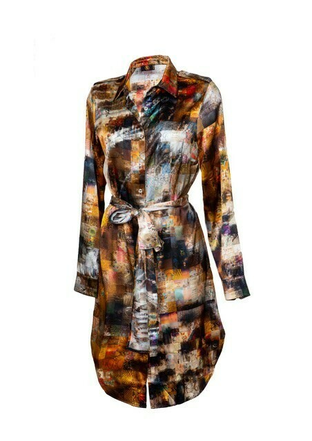 FARI DRESS- SILK