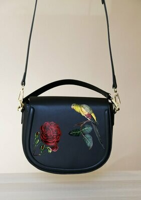 SIDEBAG BIRD AND ROSE