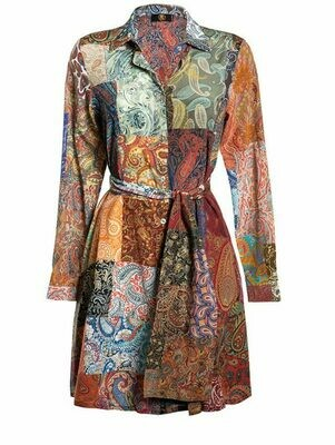 MILLY DRESS PAISLEY