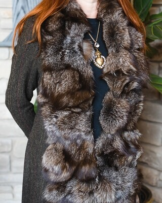ST PETERSBURG COAT TWEED/FOX