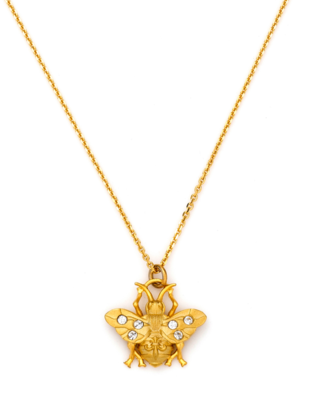 FRENCH KANDE BEE NECKLACE