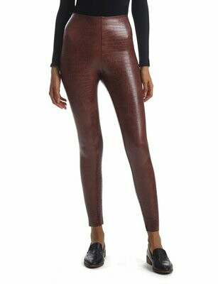 COMMANDO PERFECT BROWN CROC LEGGING