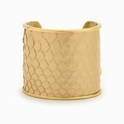 LARGE LATTE GOLD CUFF