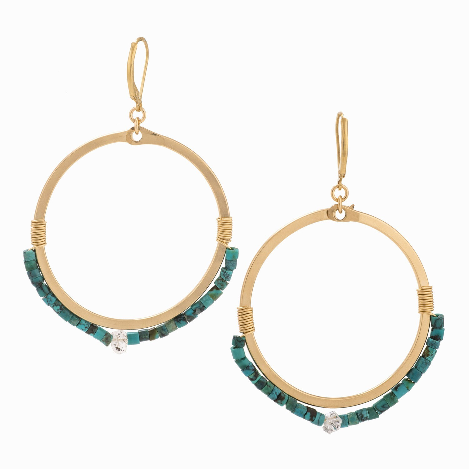 TT - AMES TURQOUISE EARRINGS