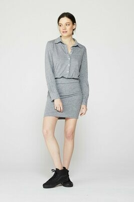 GRANITE SHIRT DRESS