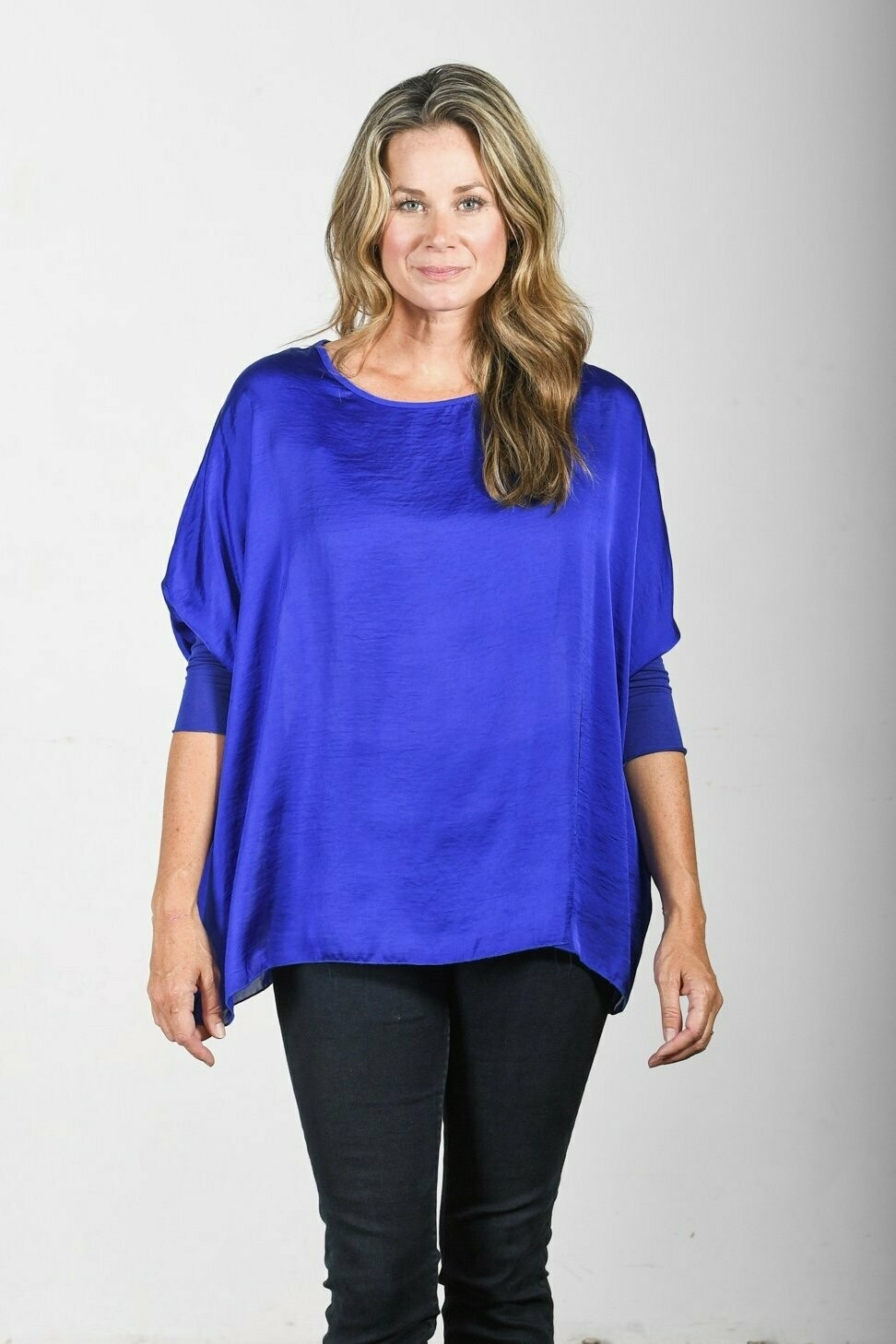 BELLA TOP COBALT