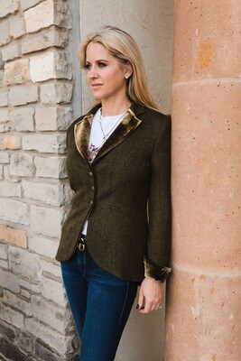 CLASSIC SHORT COAT KNIT LUXE