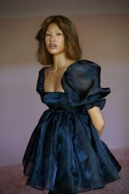 S - CAVIAR PUFF DRESS