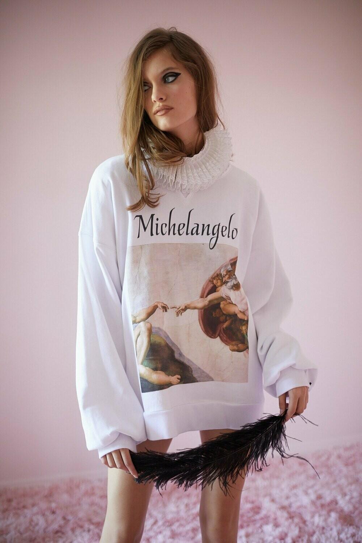 S - MICHELANGELO SWEATSHIRT