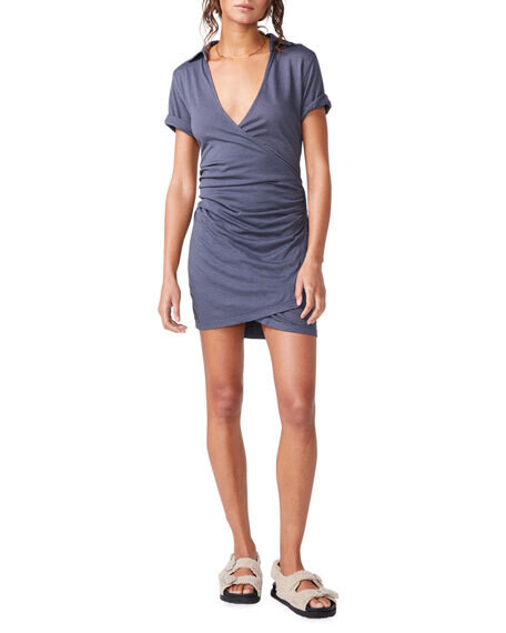 MO - GREY WARP DRESS