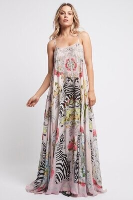 CZ - A LADY IN PINK MAXI