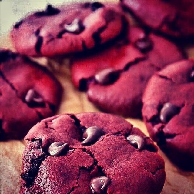 Red Velvet Cookie Mix