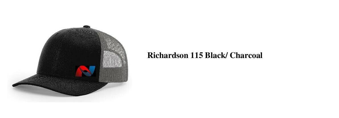 Hat - Black & Charcoal