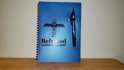 Belwood Notebook (includes pen)