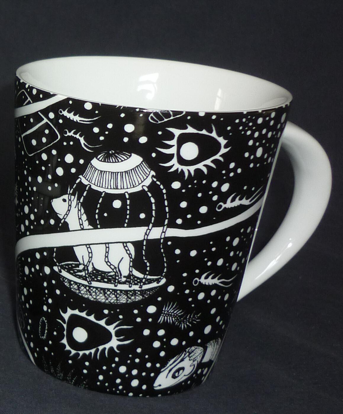 """Tasse """"Spaceglider"""" von Justus Pault"""