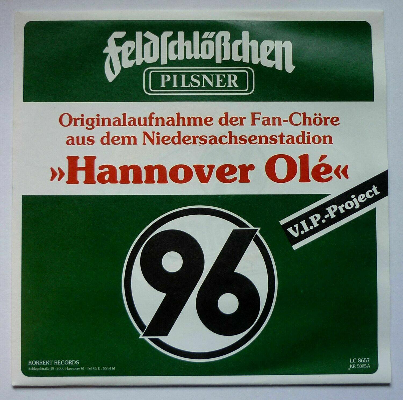 """""""Hannover Ole"""" Vinyl Schallplatte 7"""" Original von 1987 NEU"""