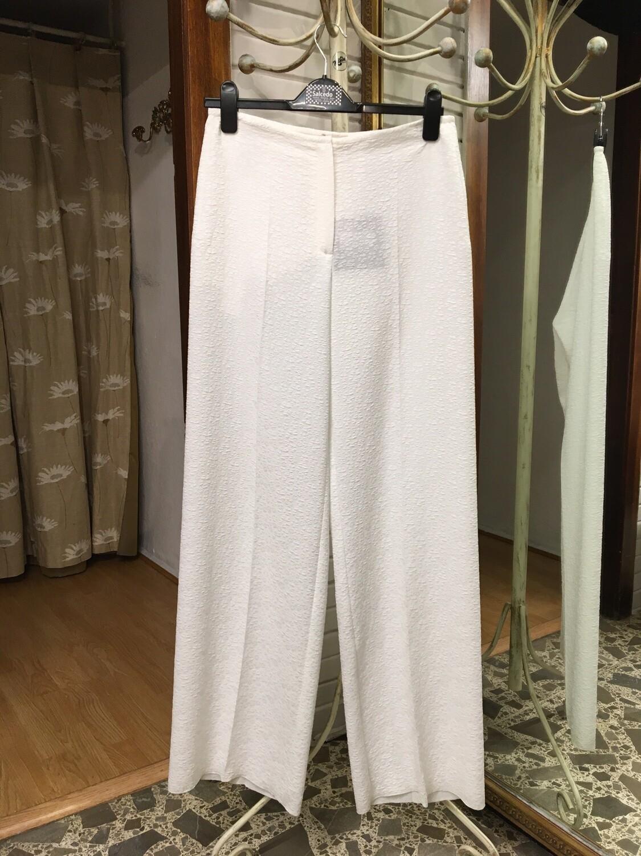 Pantalón blanco estampado