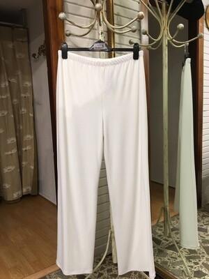 Pantalón blanco de punto