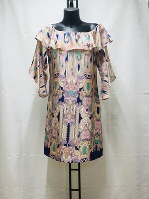 Vestido estampado cashemere
