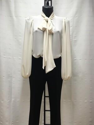 Blusa blanca lazada