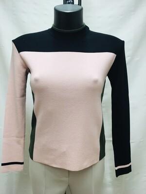 Jersey combinado rosa