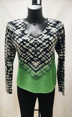 Jersey print verde