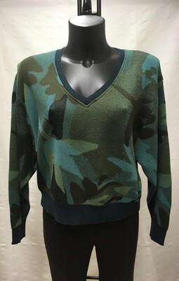 Jersey camuflaje verde