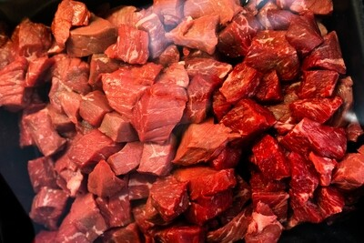 Diced Steak | per/kg