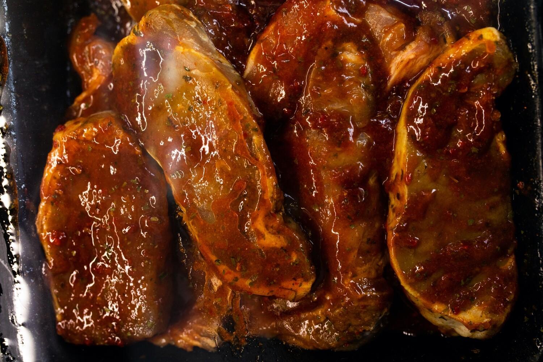Marinated Pork Steaks | per/kg