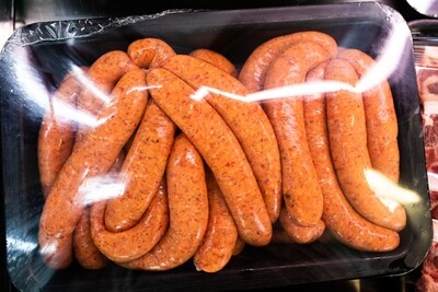 Sausages - Cracked Pepper | per/kg