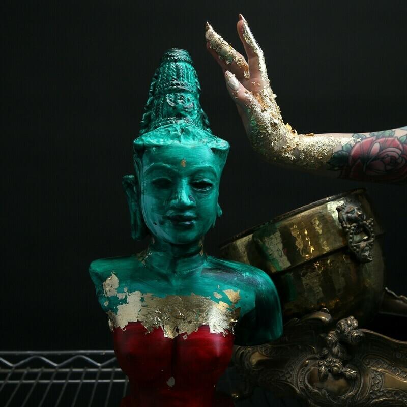 Гипсовая статуэтка Чампа Вьетнам