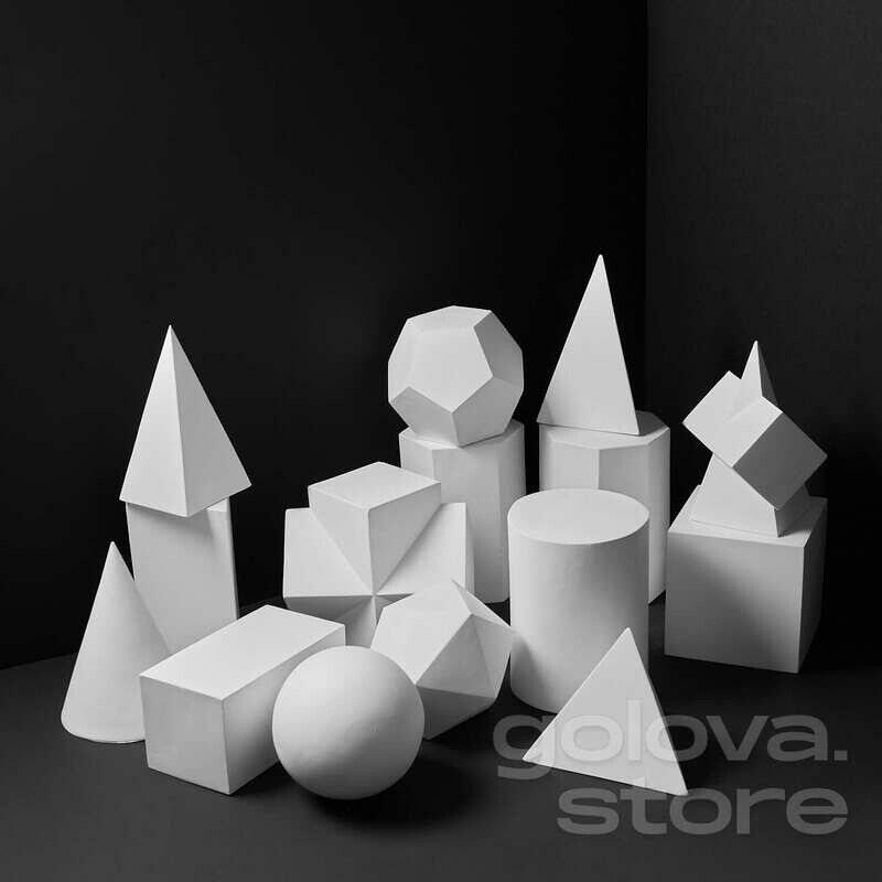 Набор Геометрических фигур 15 штук
