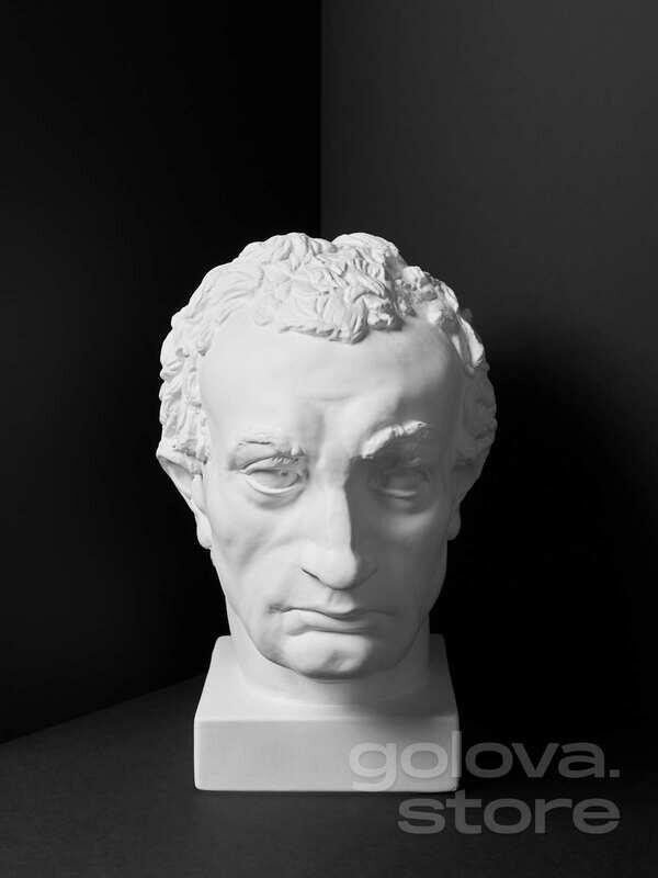 Гипсовая голова (бюст) Гаттамелат (Эразмо да Нарни)