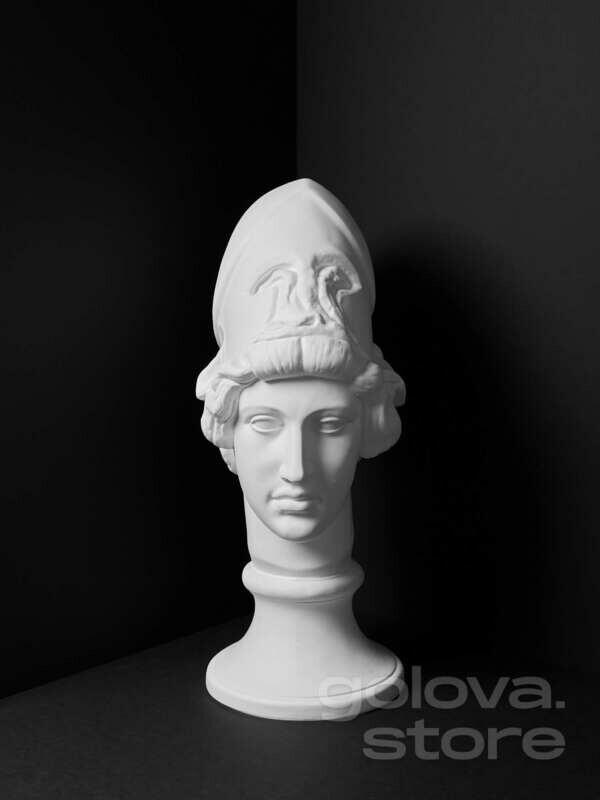 Гипсовая голова (бюст) Афина Мирона