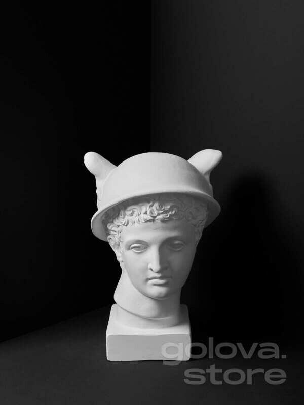 Гипсовая голова (бюст) Меркурий