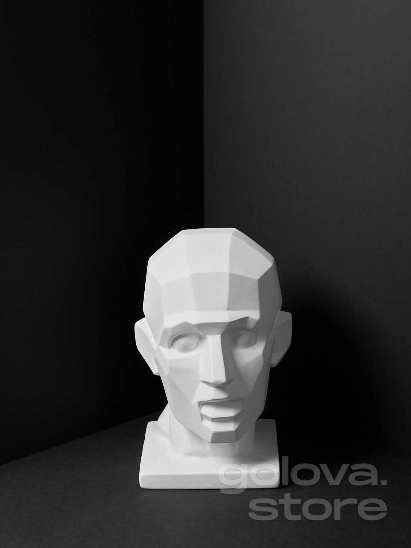 Гипсовая голова (бюст) Обрубовка Экорше