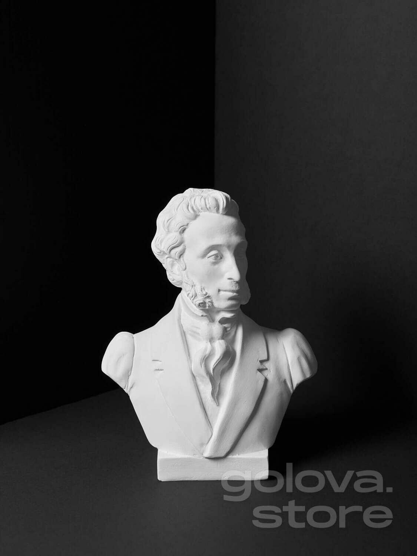 Гипсовый бюст А.С.Пушкин