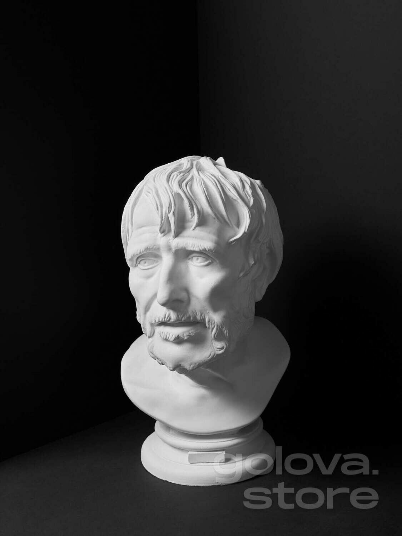 Гипсовый бюст Луций Анней Сенека