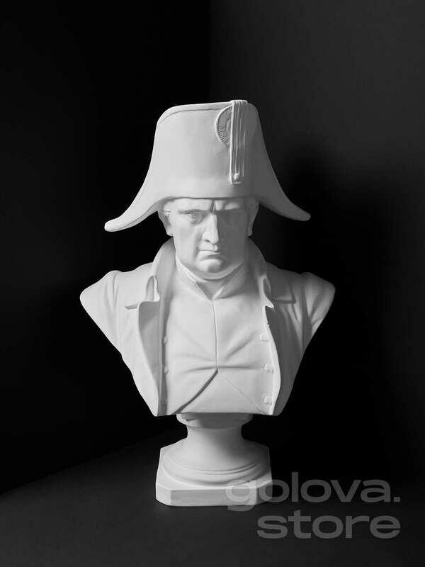 Гипсовый бюст Наполеон