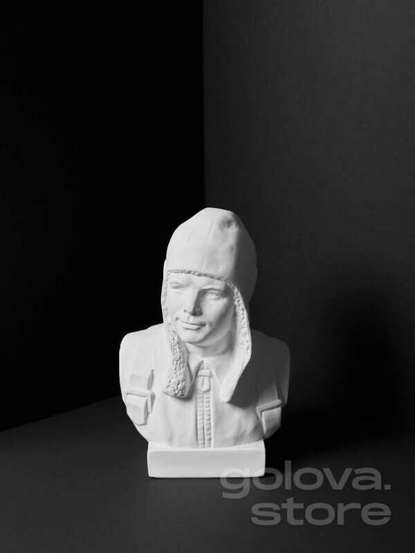 Гипсовый бюст Ю.А. Гагарин