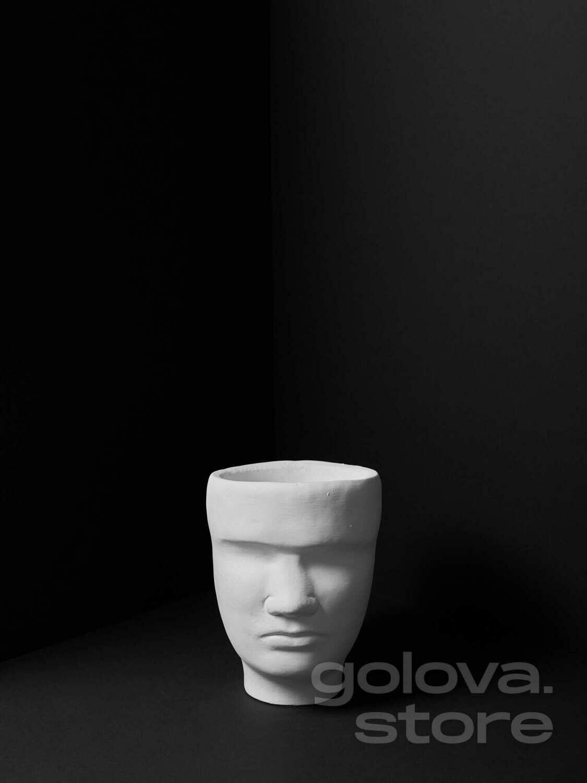 Кашпо Мужская голова