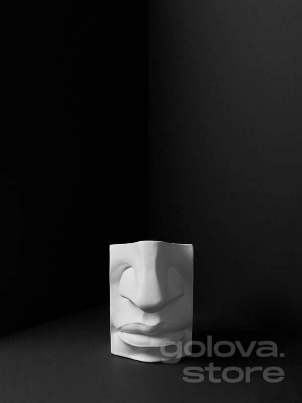 Губы с носом Давида