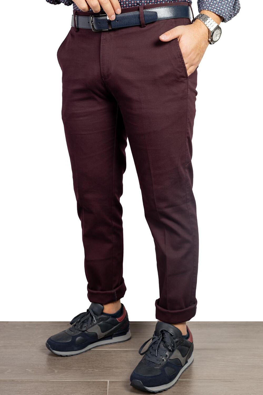 Pantaloni microfantasia