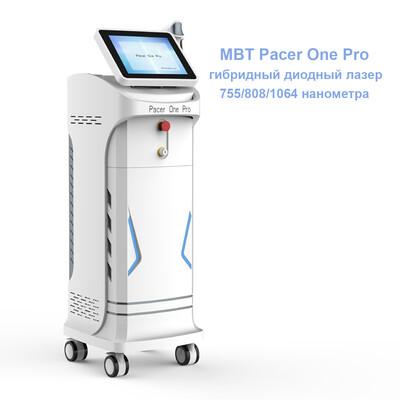 Гибридный диодный лазер для эпиляции MBT Pacer One Pro
