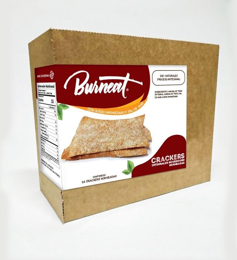 Crackers (galletas integrales, caja 14 unidades)