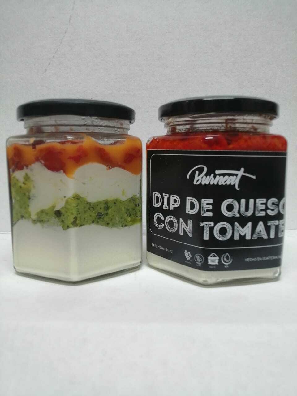 Dip de Queso con Tomate