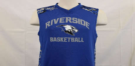 T TANK BASKETBALL RB/WH