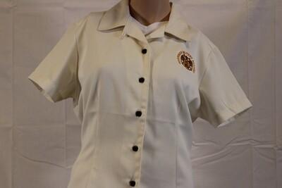 Camp Shirt L Ivory L535